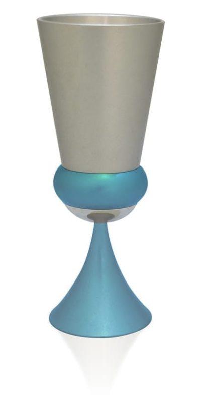 modern havdalah set, portable kiddush cup, judaica made in israel