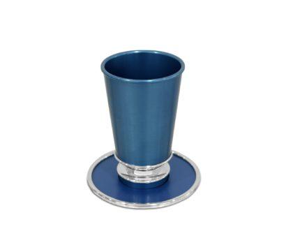 modern kiddush cup set