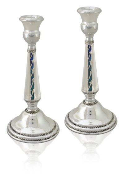 luxury Sterling Silver Candlesticks