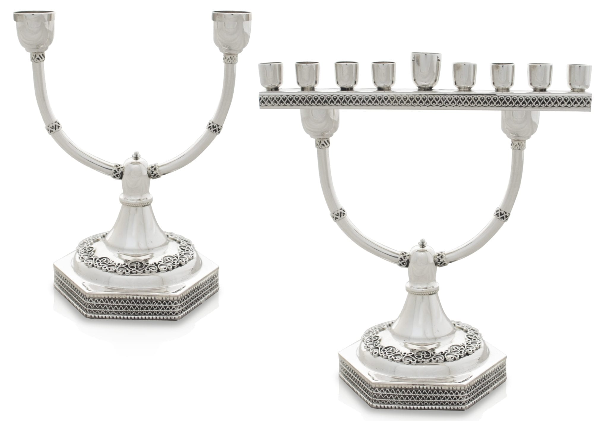 Menorah And Candesticks