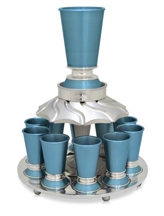 משפך חדש חצאית 10 כוסות אתר תכלת