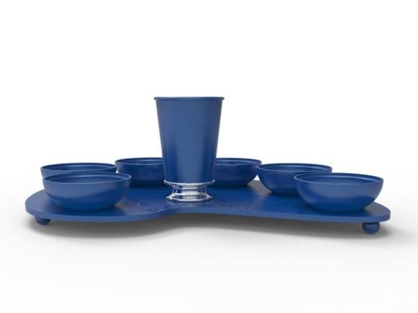 כחול צד גביע