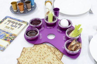 Paint Palette Aluminum Seder Plate