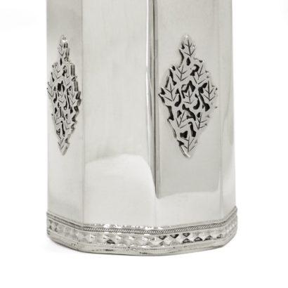 Silver Filigree Tzedakah Box