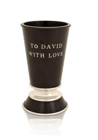 Personalized Aluminum Kiddush cup