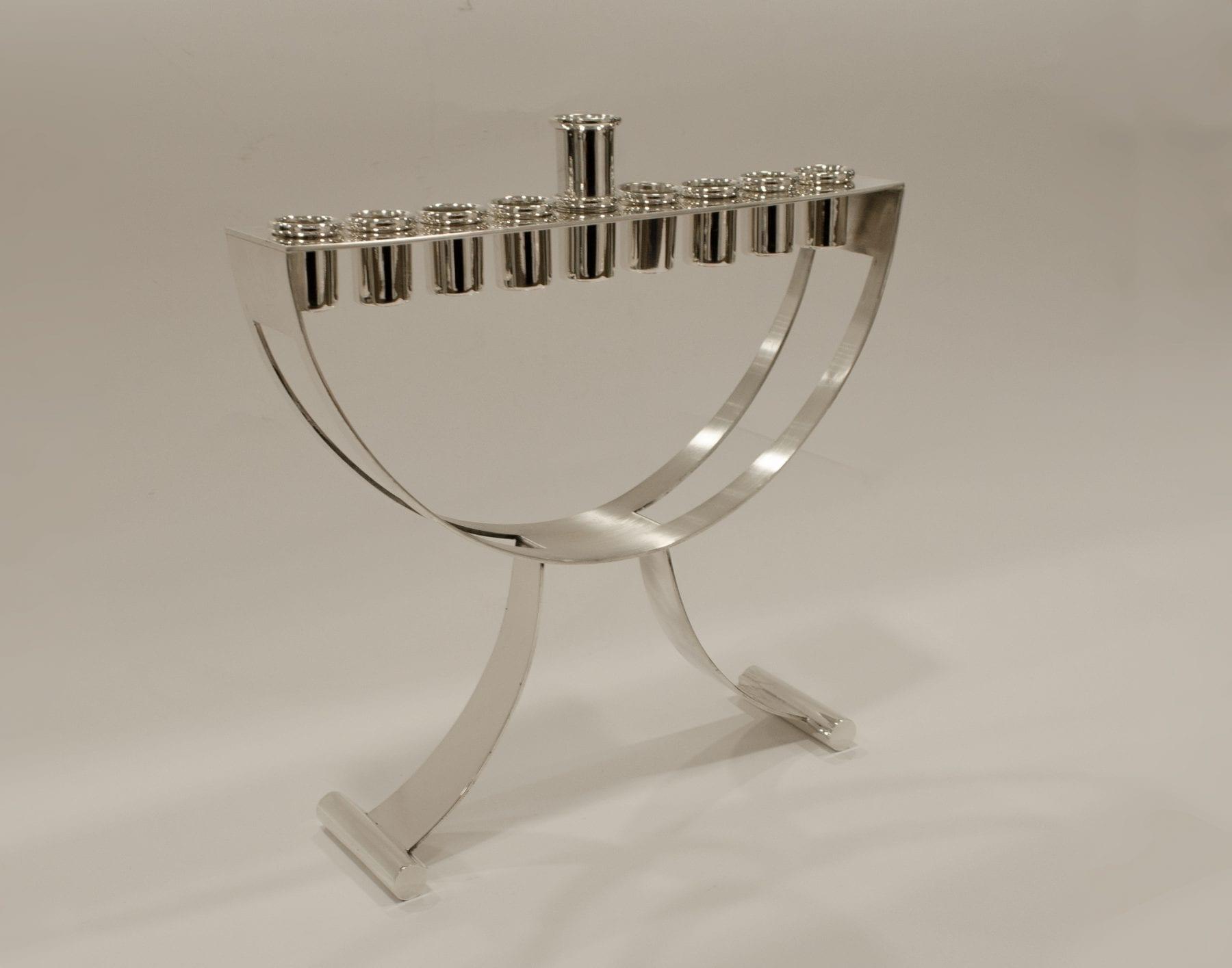 Modern Canukkah Menorah