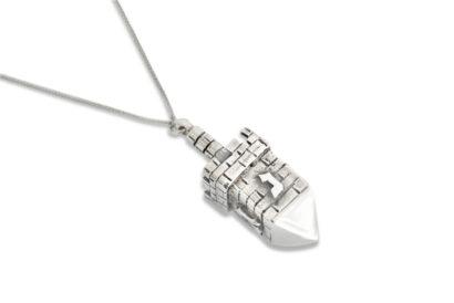 Sterling Silver Dreidel Necklace Sterling Silver Dreidel Necklace - NADAV ART