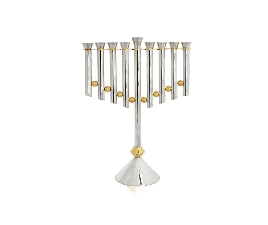 Sterling silver Extra Large Hanukkah Menorah