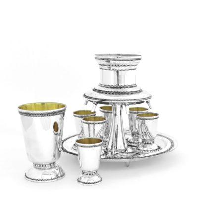 Filgree Silver Wine Fountain