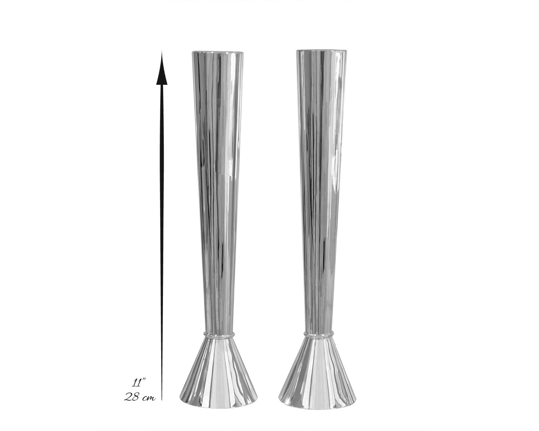 Modern Large Smooth Candlesticks