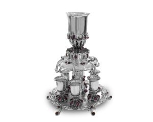 Semi-precious amethyst stones Wine Fountain