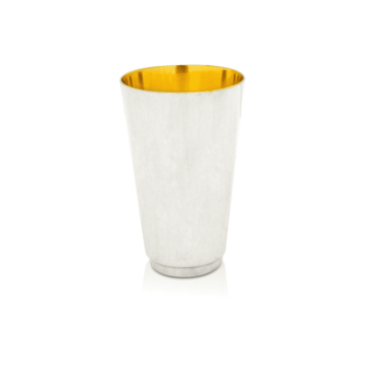 Stunning Sterling Silver smooth Kiddush Cup