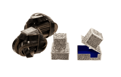Small Tefillin Boxes for bar mitzvah