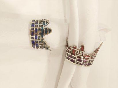 Colorful Jerusalem Napkin Rings
