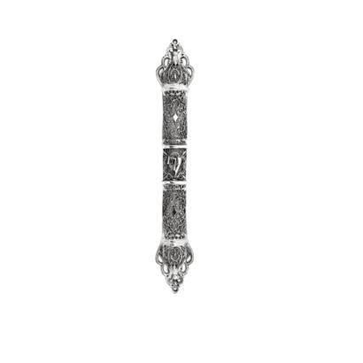 Extra Large Silver Mezuzah case