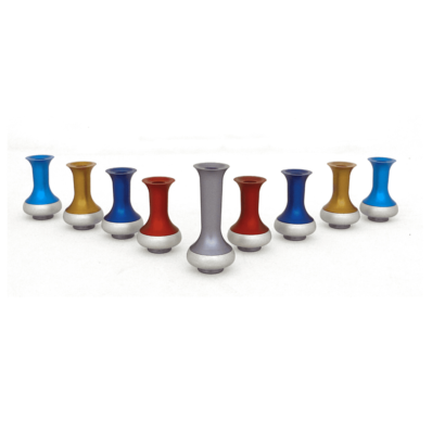 Colorful Jug Hanukkah Menorah