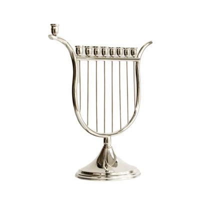 Harp of David Hanukkah Menorah