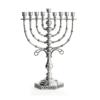 Large filigree Hanukkah Menorah