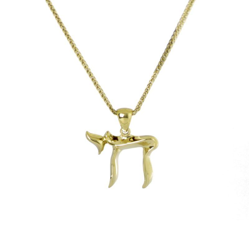 Chai of Gold  Pendant
