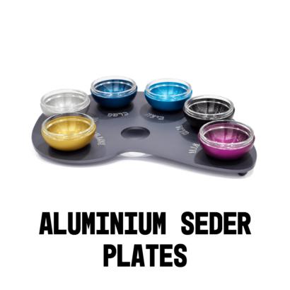 Aluminum Seder Plates