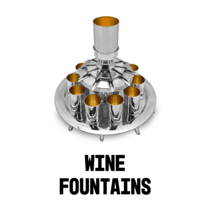 Silver Wine Fountains