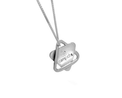 A personal engraved necklace for an American Jewish organization