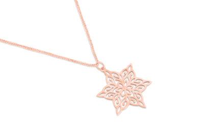 14K  Gold Filigree Star of David Necklace  - NADAV ART